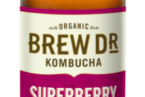 SUPERBERRY RASPBERRY, BLUEBERRY, OOLONG TEA KOMBUCHA