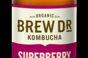 SUPERBERRY RASPBERRY, BLUEBERRY, OOLONG TEA KOMBUCHA