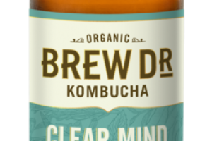 CLEAR MIND ROSEMARY, MINT SAGE, GREEN TEA KOMBUCHA