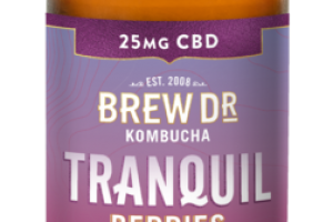 TRANQUIL BERRIES 25 MG CBD KOMBUCHA WITH HEMP EXTRACT