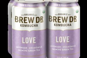 LOVE LAVENDER, CHAMOMILE, JASMINE GREEN TEA KOMBUCHA