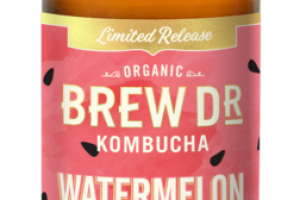 WATERMELON HIBISCUS GREEN TEA KOMBUCHA