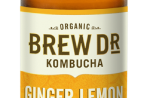 PERUVIAN GINGER LEMON GREEN TEA KOMBUCHA