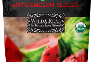 ORGANIC DRIED, SEEDED WATERMELON SLICES