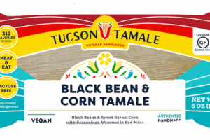 BLACK BEAN & CORN TAMALE