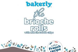 THE BRIOCHE ROLLS WITH MILK CHOCOLATE CHIPS