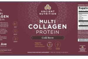 MULTI COLLAGEN PROTEIN COLD BREW WHOLE FOOD D5IETARY SUPPLEMENT