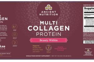 MULTI COLLAGEN PROTEIN WHOLE FOOD DIETARY SUPPLEMENT GUAVA PASSIONFRUIT