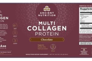MULTI COLLAGEN PROTEIN WHOLE FOOD DIETARY SUPPLEMENT CHOCOLATE