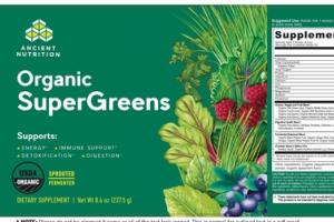 ORGANIC SUPERGREENS DIETARY SUPPLEMENT