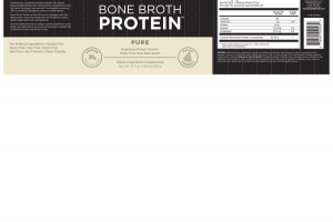 PURE BONE BROPTH SUPERFOOD PROTEIN POWDER WHOLE FOOD DIETARY SUPPLEMENT