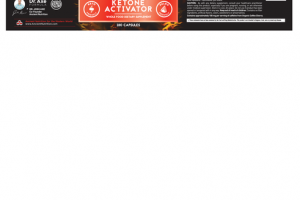 KETONE ACTIVATOR WHOLE FOOD DIETARY SUPPLEMENT CAPSULES