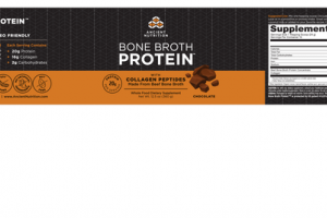 BONE BROTH PROTEIN WHOLE FOOD DIETARY SUPPLEMENT CHOCOLATE