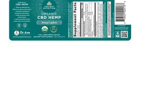 CBD HEMP 20MG FULL-SPECTRUM DIETARY SUPPLEMENT CAPLETS