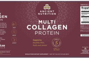 MULTI COLLAGEN PROTEIN WHOLE FOOD DIETARY SUPPLEMENT