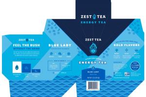 BLUE LADY ENERGY BLACK TEA