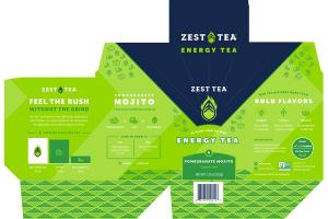 POMEGRANATE MOJITO ENERGY GREEN TEA