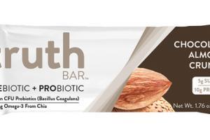 CHOCOLATE ALMOND CRUNCH PREBIOTIC + PROBIOTIC BAR
