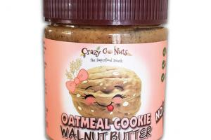 WALNUT BUTTER OATMEAL COOKIES