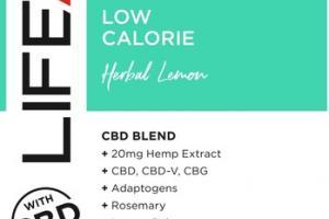 HERBAL LEMON LOW CALORIE 20 MG HEMP EXTRACT + CBD DIETARY SUPPLEMENT