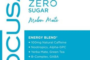 ZERO SUGAR ENERGY BLEND FOCUS DIETARY SUPPLEMENT MELON MATE