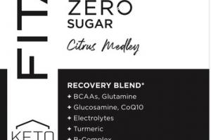RECOVER ZERO SUGAR DIETARY SUPPLEMENT BEVERAGE, CITRUS MEDLEY