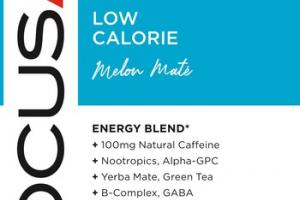 FOCUS LOW CALORIE DIETARY SUPPLEMENT BEVERAGE, MELON MATE