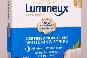 CERTIFIED NON-TOXIC WHITENING STRIPS