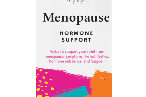 MENOPAUSE HORMONE SUPPORT DIETARY SUPPLEMENT VEGETARIAN CAPSULES