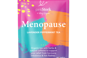 MENOPAUSE LAVENDER PEPPERMINT TEA HERBAL SUPPLEMENT