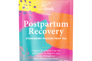 STRAWBERRY PASSION FRUIT TEA POSTPARTUM RECOVERY