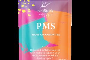 PMS MENSTRUAL SUPPORT HERBAL SUPPLEMENT TEA PYRAMID SACHETS WARM CINNAMON