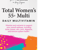 TOTAL WOMEN'S 55+ MULTI DAILY MULTIVITAMIN DIETARY SUPPLEMENT VEGETARIAN CAPSULES