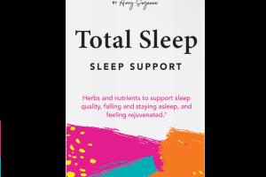 TOTAL SLEEP SLEEP SUPPORT DIETARY SUPPLEMENT VEGETARIAN CAPSULES