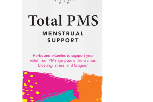 TOTAL PMS MENSTRUAL SUPPORT DIETARY SUPPLEMENT VEGETARIAN CAPSULES