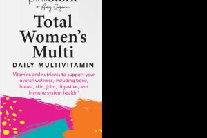 TOTAL WOMEN'S DAILY MULTIVITAMIN DIETARY SUPPLEMENT VEGETARIAN CAPSULES