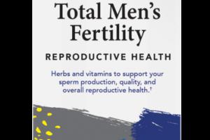 TOTAL MEN'S FERTILITY REPRODUCTIVE HEALTH DIETARY SUPPLEMENT VEGETARIAN CAPSULES