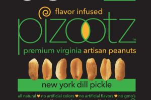 NEW YORK DILL PICKLE PREMIUM VIRGINIA ARTISAN PEANUTS