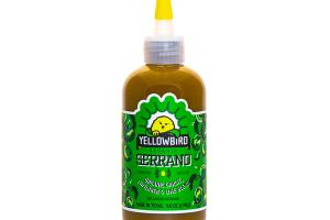 SERRANO ORGANIC GARLIC, CUCUMBER & LIME BLEND CONDIMENT