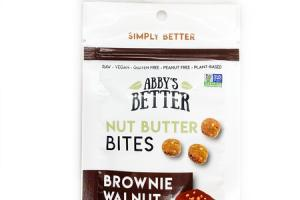BROWNIE WALNUT NUT BUTTER BITES