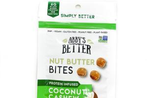 COCONUT CASHEW NUT BUTTER BITES