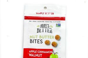 APPLE CINNAMON WALNUT NUT BUTTER BITES