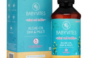 INFANT AND TODDLER DHA & MULTI DIETARY SUPPLEMENT ALGAE-OIL, RASPBERRY