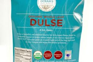 ORGANIC WHOLE LEAF DULSE