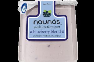 BLUEBERRY BLEND GREEK LOW-FAT YOGURT