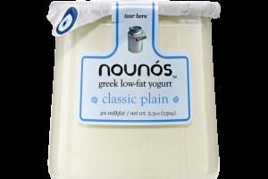 CLASSIC PLAIN GREEK LOW-FAT YOGURT