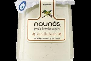VANILLA BEAN GREEK LOW-FAT YOGURT