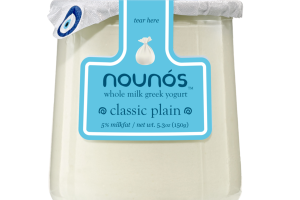 CLASSIC PLAIN GRADE A WHOLE MILK GREEK YOGURT