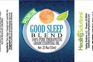 GOOD SLEEP B L E N D 100% PURE THERAPEUTIC GRADE ESSENTIAL OIL