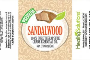 PREMIUM SANDALWOOD 100% PURE THERAPEUTIC GRADE ESSENTIAL OIL